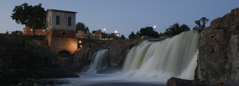 Sioux Falls at dawn