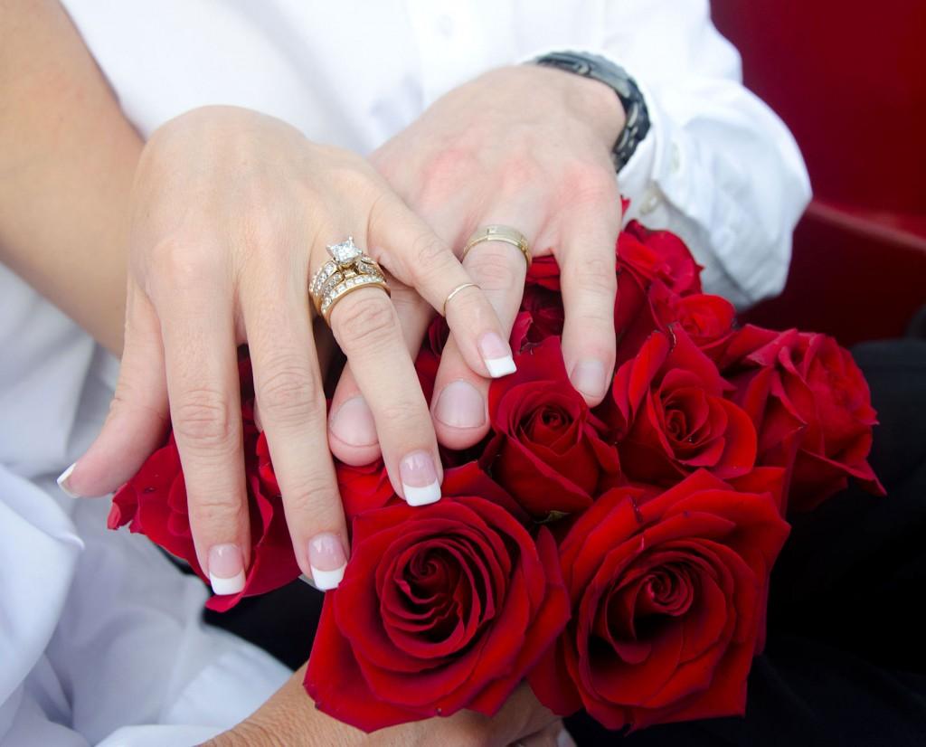 rose, ring