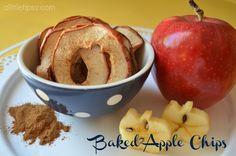 baked applechips