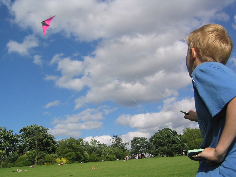 kite boy