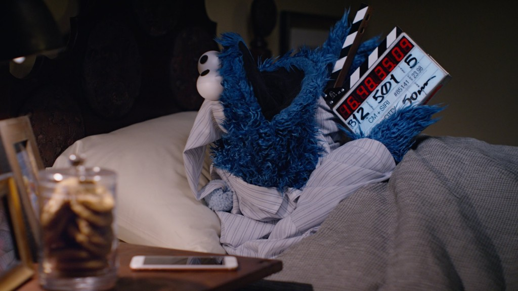 Cookie Monster–behind the scenes